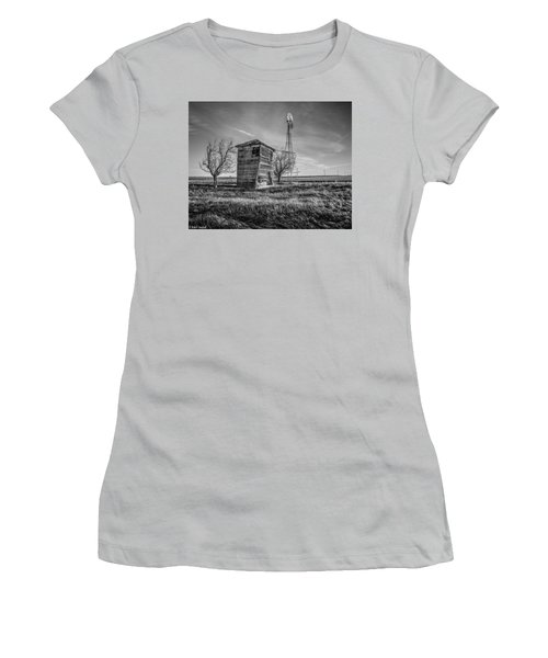 Old Windpump Women's T-Shirt (Athletic Fit)