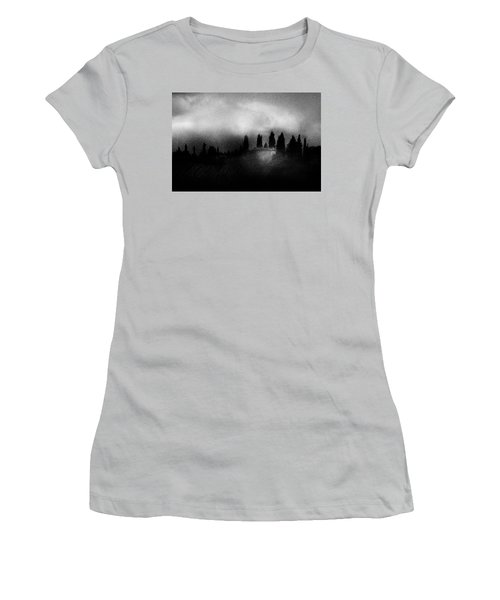 On Top Of The Hill Women's T-Shirt (Junior Cut) by Celso Bressan