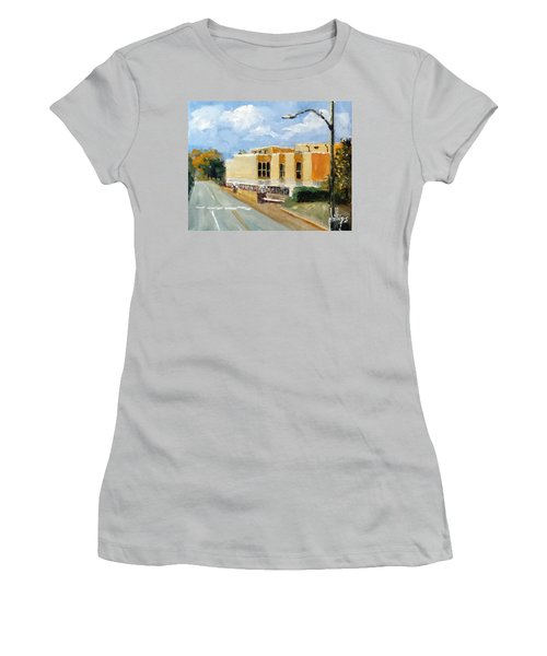 Onslow New Courthouse Women's T-Shirt (Junior Cut) by Jim Phillips