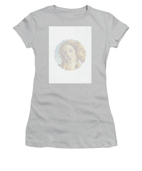 Women's T-Shirt (Junior Cut) featuring the digital art Optical Illusions - Famous Work Of Art 2 by Klara Acel