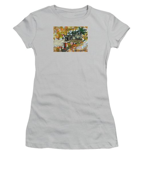 Our Tree House Women's T-Shirt (Junior Cut) by Jim Hubbard