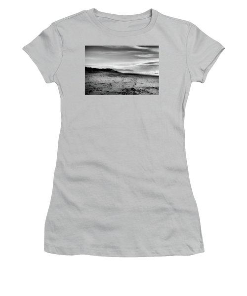 Outer Sunset Ocean Beach San Francisco Women's T-Shirt (Junior Cut) by Kandy Hurley