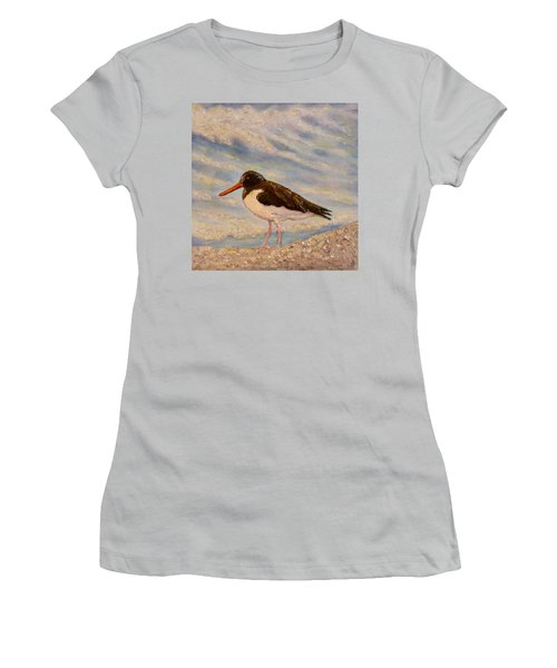 Oyster Catcher Women's T-Shirt (Athletic Fit)