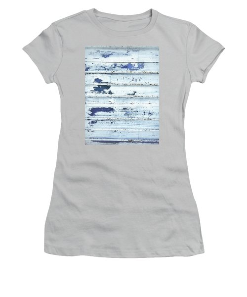 Painted Metal Surafce Women's T-Shirt (Athletic Fit)