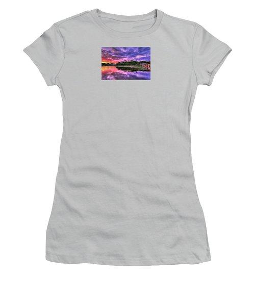 Palette Women's T-Shirt (Athletic Fit)