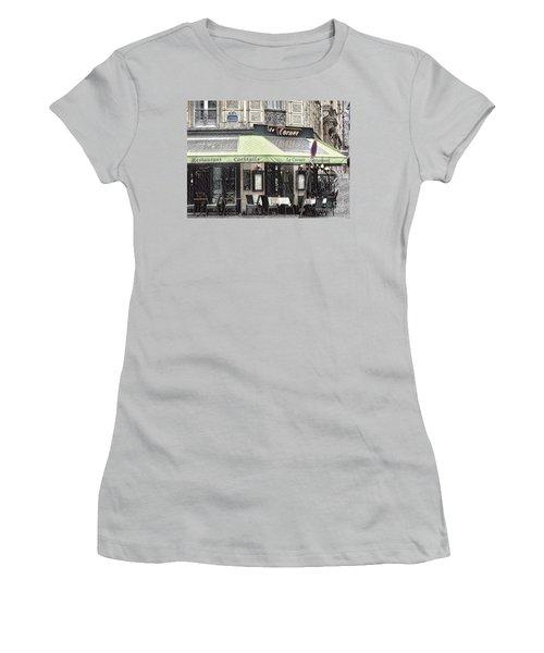 Paris - Restaurant Women's T-Shirt (Athletic Fit)