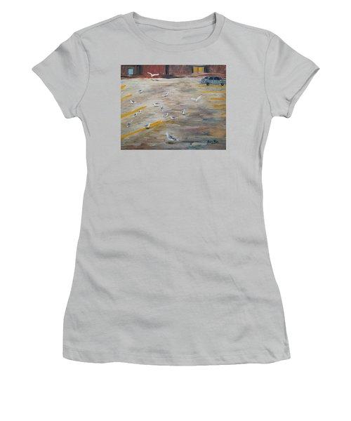 Parking Lot Attendants Women's T-Shirt (Athletic Fit)