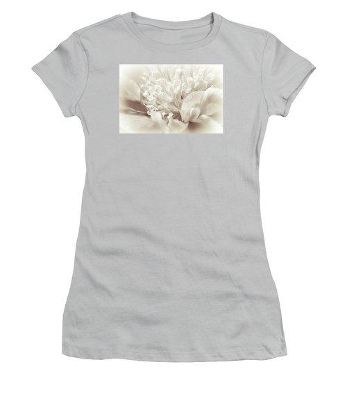 Peony 5 Women's T-Shirt (Junior Cut) by Bonnie Bruno