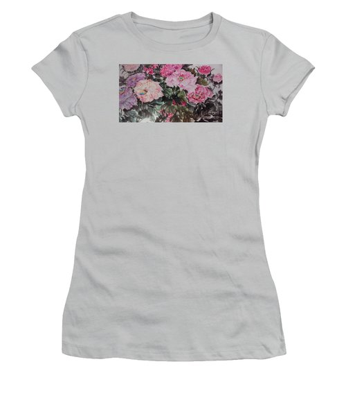 Peony20170126_2 Women's T-Shirt (Athletic Fit)