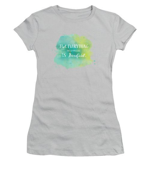 Permissible Women's T-Shirt (Athletic Fit)