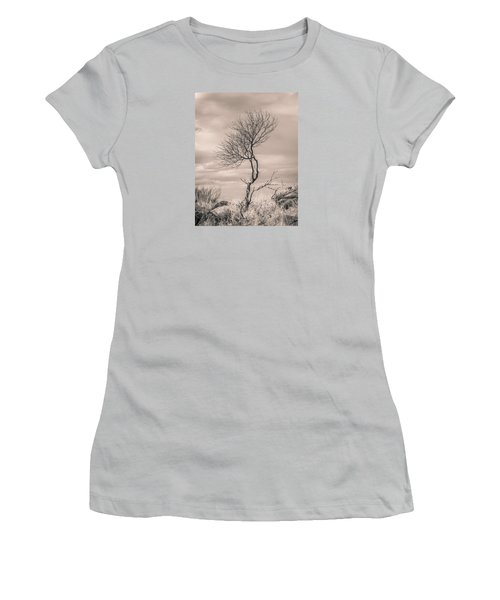 Perseverance Women's T-Shirt (Junior Cut) by Racheal Christian