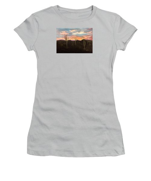 Phoenix Az Sunset Women's T-Shirt (Athletic Fit)