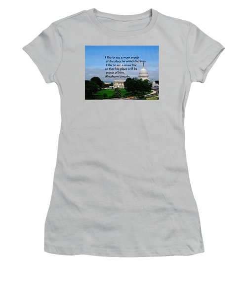 Photography Women's T-Shirt (Athletic Fit)