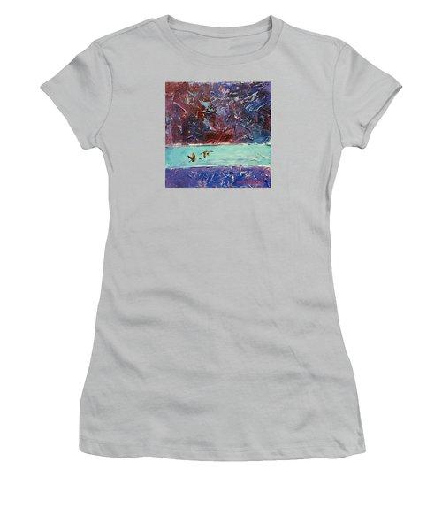 Pin Tails Women's T-Shirt (Junior Cut) by David  Maynard