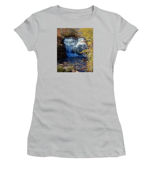 Pixley Falls State Park Women's T-Shirt (Junior Cut) by Diane E Berry