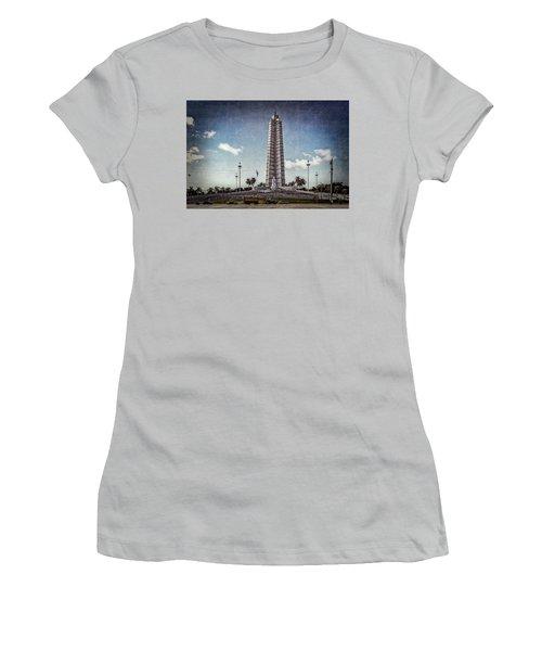 Plaza De La Revolucion Women's T-Shirt (Athletic Fit)