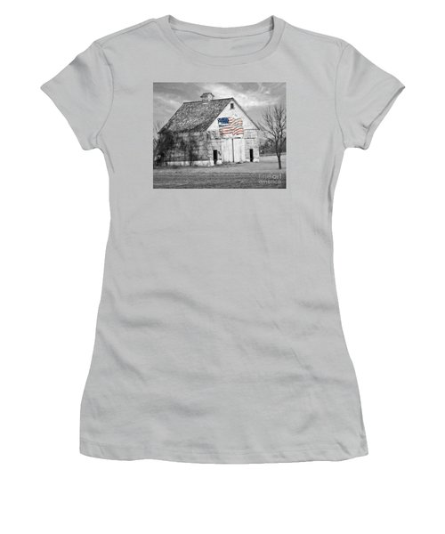Pledge Of Allegiance Crib Women's T-Shirt (Athletic Fit)
