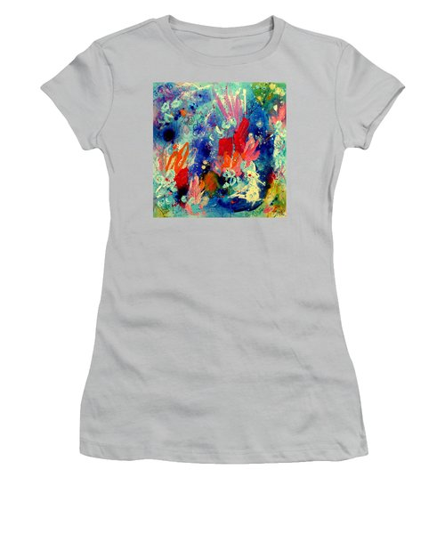 Pocket Full Of Horses 2 Women's T-Shirt (Junior Cut) by Tracy Bonin