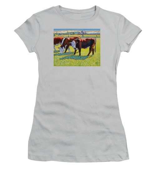 Prairie Lunch Women's T-Shirt (Athletic Fit)