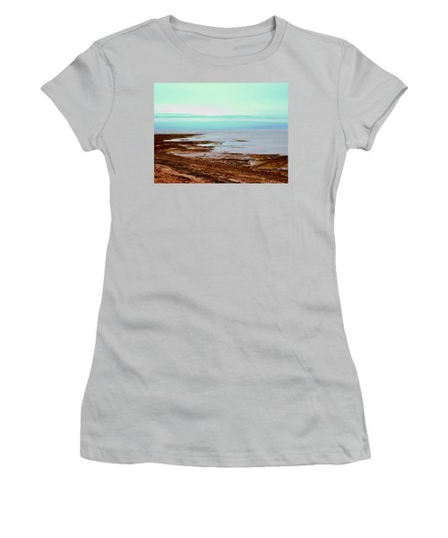 Prim Point Beach Women's T-Shirt (Athletic Fit)