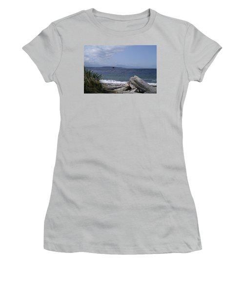 Puget Sound Women's T-Shirt (Junior Cut) by Henri Irizarri