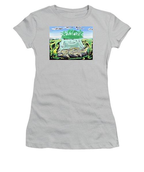 Purgatorium Praedator Women's T-Shirt (Junior Cut) by Ryan Demaree