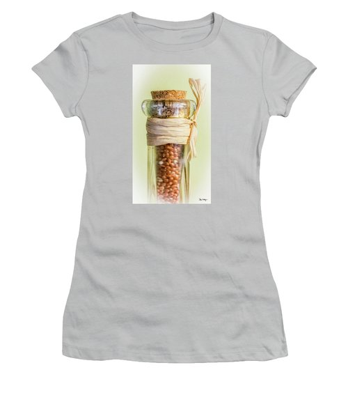 Put A Cork In It Women's T-Shirt (Junior Cut) by Skip Tribby