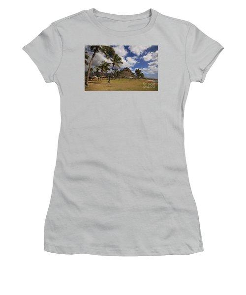 Puu O Hulu Kai Women's T-Shirt (Junior Cut) by Craig Wood