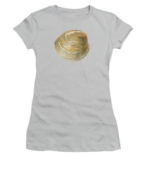 Quahog Shell Women's T-Shirt (Athletic Fit)