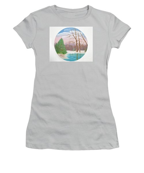 Quietude Women's T-Shirt (Athletic Fit)