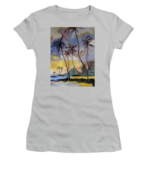 Rainbows Women's T-Shirt (Junior Cut) by Ray Agius