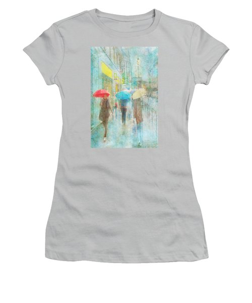 Rainy In Paris 5 Women's T-Shirt (Athletic Fit)