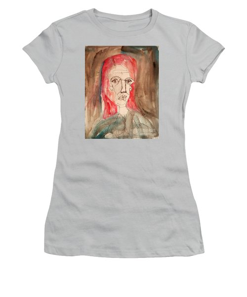 Red Headed Stranger Women's T-Shirt (Junior Cut) by A K Dayton