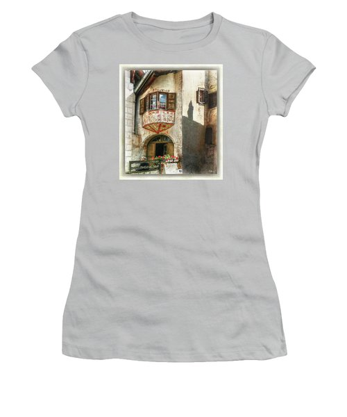 Women's T-Shirt (Athletic Fit) featuring the photograph Relaxing Evening Sun  by Hanny Heim