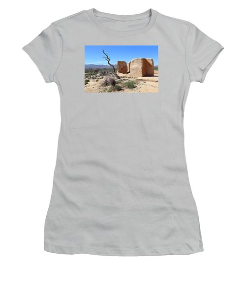 Women's T-Shirt (Junior Cut) featuring the photograph Remain Standing Of Ryan Ranch  by Viktor Savchenko