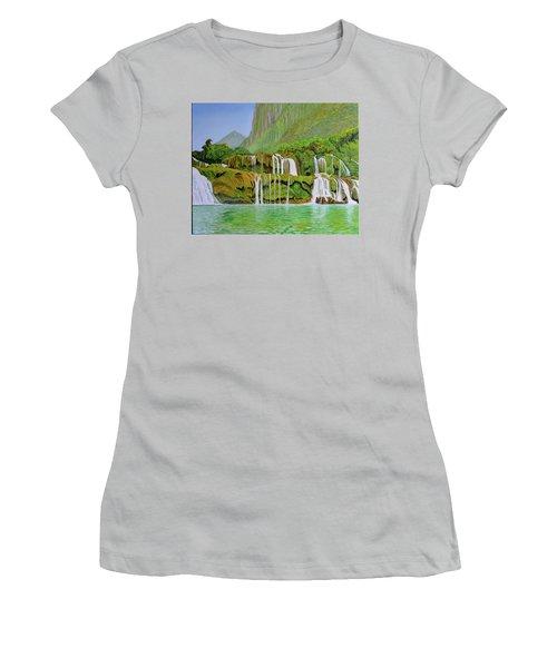 Returned To Paradise Women's T-Shirt (Junior Cut) by Thu Nguyen