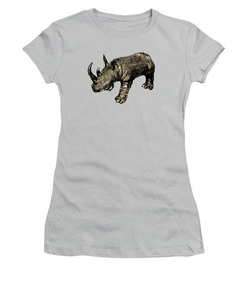 Rhino Women's T-Shirt (Athletic Fit)