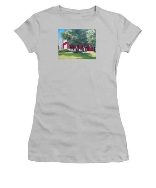 Rich's Barn Women's T-Shirt (Junior Cut) by Carol Hart