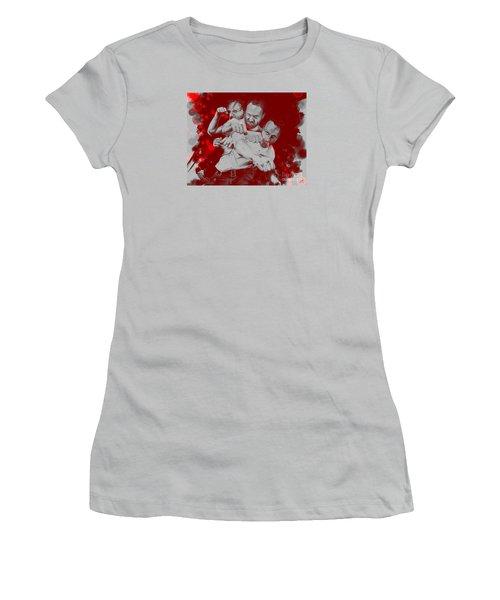 Rick Grimes Women's T-Shirt (Junior Cut) by David Kraig