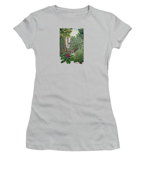 Rocke's Garden Clothing Women's T-Shirt (Athletic Fit)