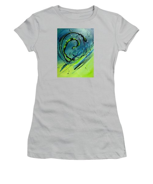 Rolling Down The River Women's T-Shirt (Junior Cut) by Mary Kay Holladay