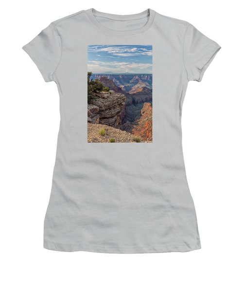 Canyon Below Women's T-Shirt (Athletic Fit)