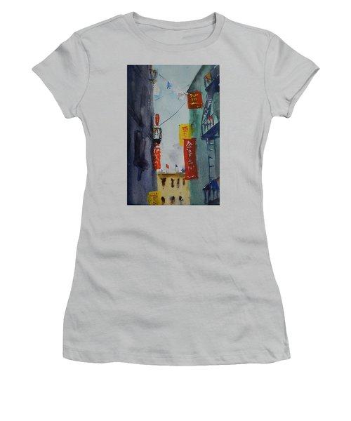 Ross Alley6 Women's T-Shirt (Junior Cut) by Tom Simmons
