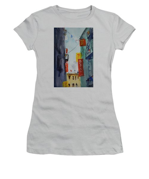 Ross Alley6 Women's T-Shirt (Athletic Fit)
