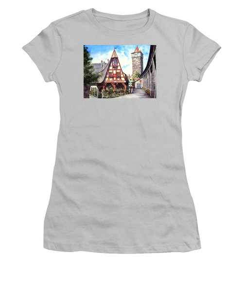 Rothenburg Memories Women's T-Shirt (Athletic Fit)