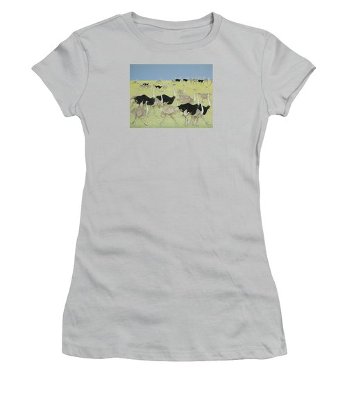 Rush Hour Women's T-Shirt (Junior Cut) by Pat Scott