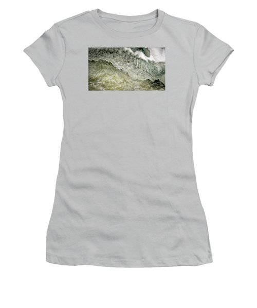 Rushing Water Women's T-Shirt (Athletic Fit)