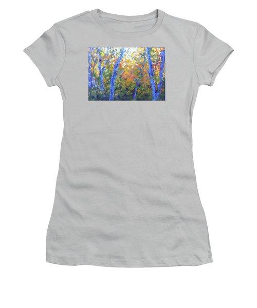 Rustlers Gulch Afternoon Women's T-Shirt (Junior Cut) by Becky Chappell