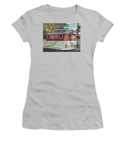 Sadlacks Restaurant Women's T-Shirt (Athletic Fit)