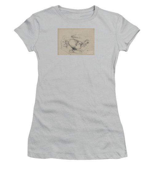 Safe Women's T-Shirt (Junior Cut) by Annemeet Hasidi- van der Leij